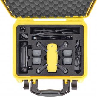 Фото3 SPK2300YEL-01 Кейс пластиковый 2300 для хранения и переноски DJI SPARK FLY MORE COMBO