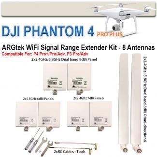Фото1 EXT2DUAL - Комплект расширения диапазона для DJI Inspire 2/Phantom P4PP/P4P/P3 PRO/P3 Advanced