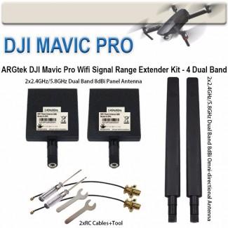 Фото1 EXT8 - Комплект расширения диапазона для DJI Mavic/Spark