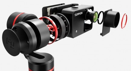 Фото4 FY-SUMMON - Трёхосевой стабилизационный подвес с камерой Summon