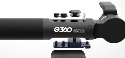 Фото1 Стедикам FY-G360 - Трёхосевой всепогодный IP67 многофункциональный стабилизационный подвес IP67