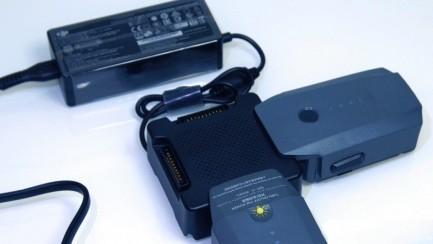 Фото2 Зарядный хаб-концентратор для 4-х батарей Mavic