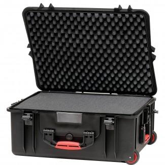 Фото3 HPRC2700W CUBBLK - Кейс пластиковый для хранения и переноски, на колёсах и с транспортировочной ручк