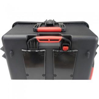 Фото5 HPRC2700W CUBBLK - Кейс пластиковый для хранения и переноски, на колёсах и с транспортировочной ручк