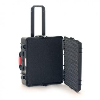 Фото2 HPRC2700W CUBBLK - Кейс пластиковый для хранения и переноски, на колёсах и с транспортировочной ручк