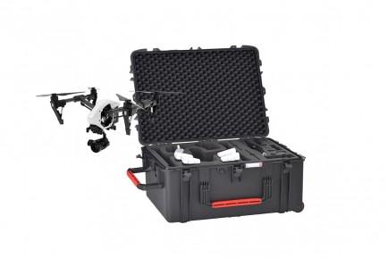Фото1 Пластиковый колёсный кейс HPRC 2780W для DJI Inspire 1/Pro