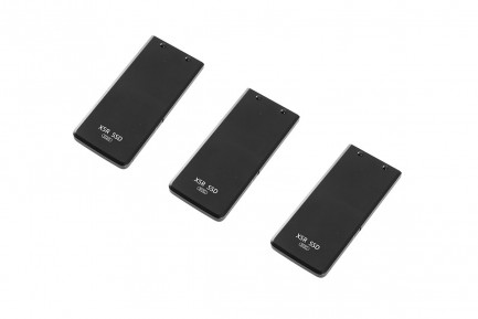 Фото1 Комплект из 3-х съёмных накопителей SSD 512GB Zenmuse X5R