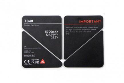 Фото1 Изолирующая наклейка-стикер для батарии TB48 серия Inspire 1