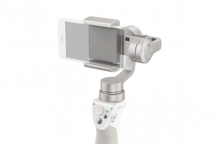 Фото1 OSMO Mobile (Silver) Электронный трехосевой стабилизационный подвес под смартфон