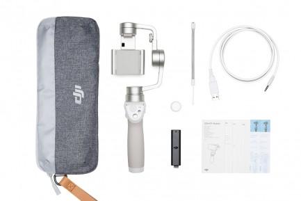 Фото6 OSMO Mobile (Silver) Электронный трехосевой стабилизационный подвес под смартфон