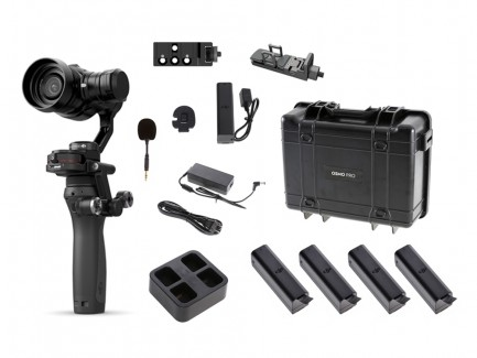 Фото1 DJI OSMO RAW - Камера 4К с ручным стабилизационной системой в профессиональной комплектации OSMO RAW