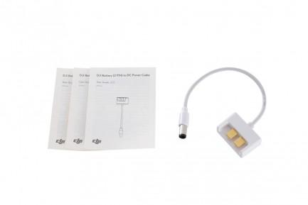 Фото2 Переходник для зарядки мобильного устройства от аккумулятора Phantom 3 (DJI Battery (2 PIN) to DC Po