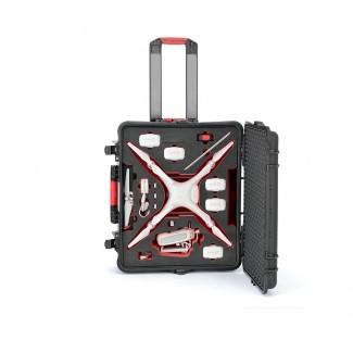 Фото1 PHA4-2700W-01 - Кейс пластиковый для хранения и переноски коптеров серии Phantom4, на колёсах и с тр