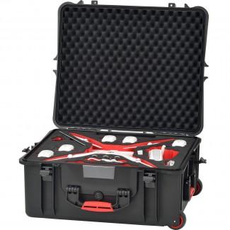 Фото6 PHA4-2700W-01 - Кейс пластиковый для хранения и переноски коптеров серии Phantom4, на колёсах и с тр