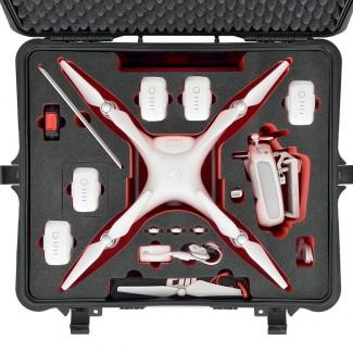 Фото4 PHA4-2700W-01 - Кейс пластиковый для хранения и переноски коптеров серии Phantom4, на колёсах и с тр
