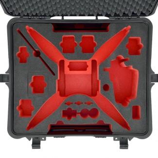 Фото5 PHA4-2700W-01 - Кейс пластиковый для хранения и переноски коптеров серии Phantom4, на колёсах и с тр