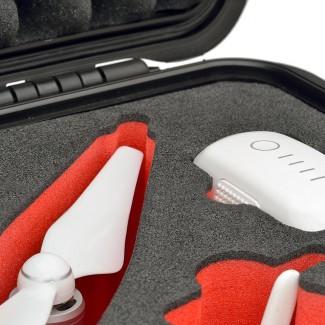 Фото3 PHA4-2700W-01 - Кейс пластиковый для хранения и переноски коптеров серии Phantom4, на колёсах и с тр
