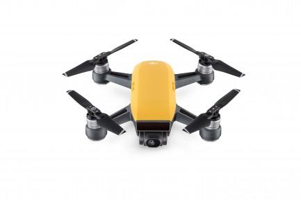 Фото1 Квадрокоптер DJI Spark Sunrise Yellow в комплектации Fly More Combo