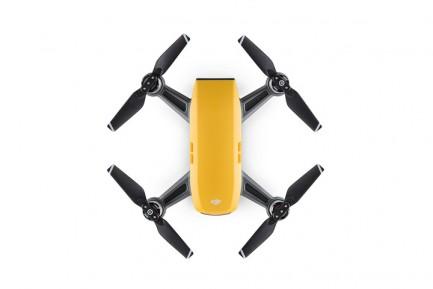 Фото2 Квадрокоптер DJI Spark Sunrise Yellow в комплектации Fly More Combo