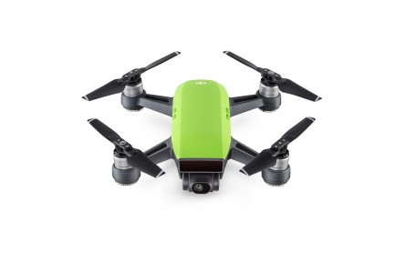 Фото1 Квадрокоптер DJI Spark Meadow Green в комплектации Fly More Combo