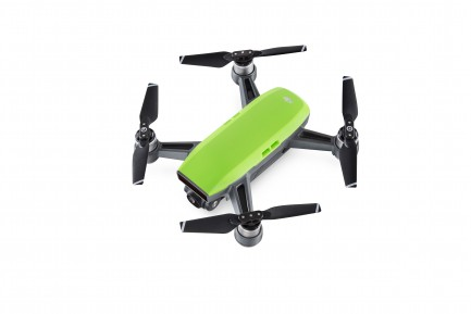 Фото2 Квадрокоптер DJI Spark Meadow Green в комплектации Fly More Combo