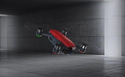 Фото7 Квадрокоптер DJI Spark Lava Red в комплектации Fly More Combo