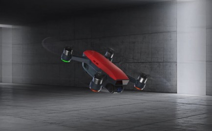 Фото3 Квадрокоптер DJI Spark Lava Red