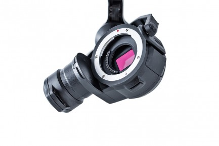 Фото2 4К Камера с подвесом Zenmuse X5 серия Inspire 1(без амортизирующей площадки и объектива)
