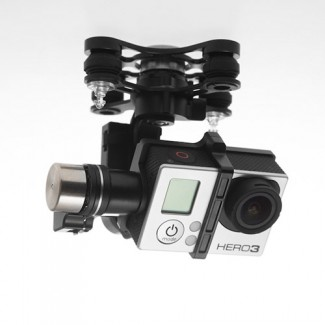 Фото2 Zenmuse H3-3D - Трёхосевой подвес DJI для Phantom 2 (без камеры)